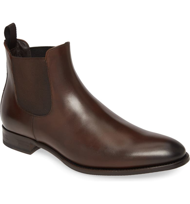 TO BOOT NEW YORK Shelby Mid Chelsea Boot, Main, color, BROWN