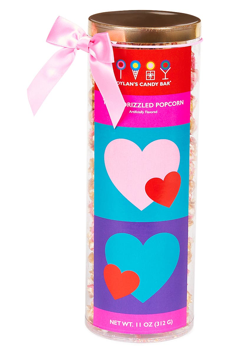 DYLAN'S CANDY BAR You Make My Heart Pop Drizzled Popcorn, Main, color, MULTI