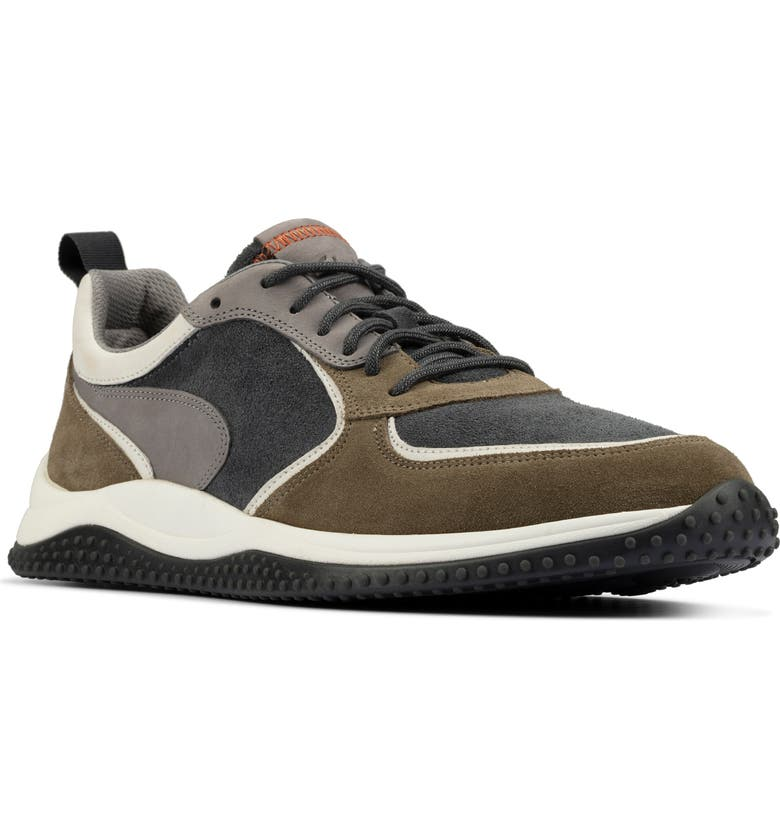 CLARKS<SUP>®</SUP> Puxton Sneaker, Main, color, OLIVE