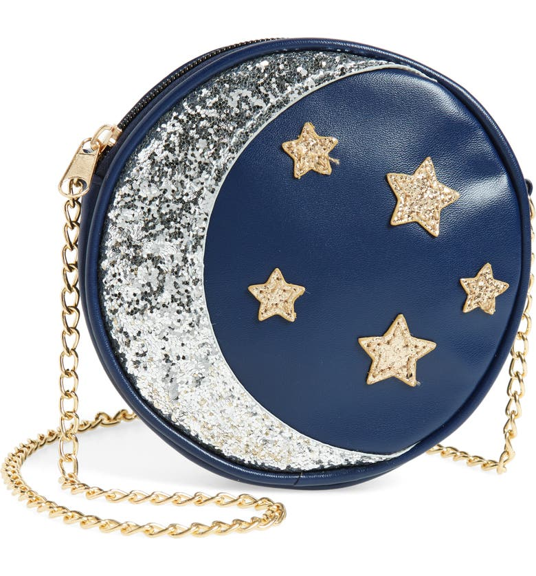 CAPELLI NEW YORK Sequin Stars & Moon Bag, Main, color, 411