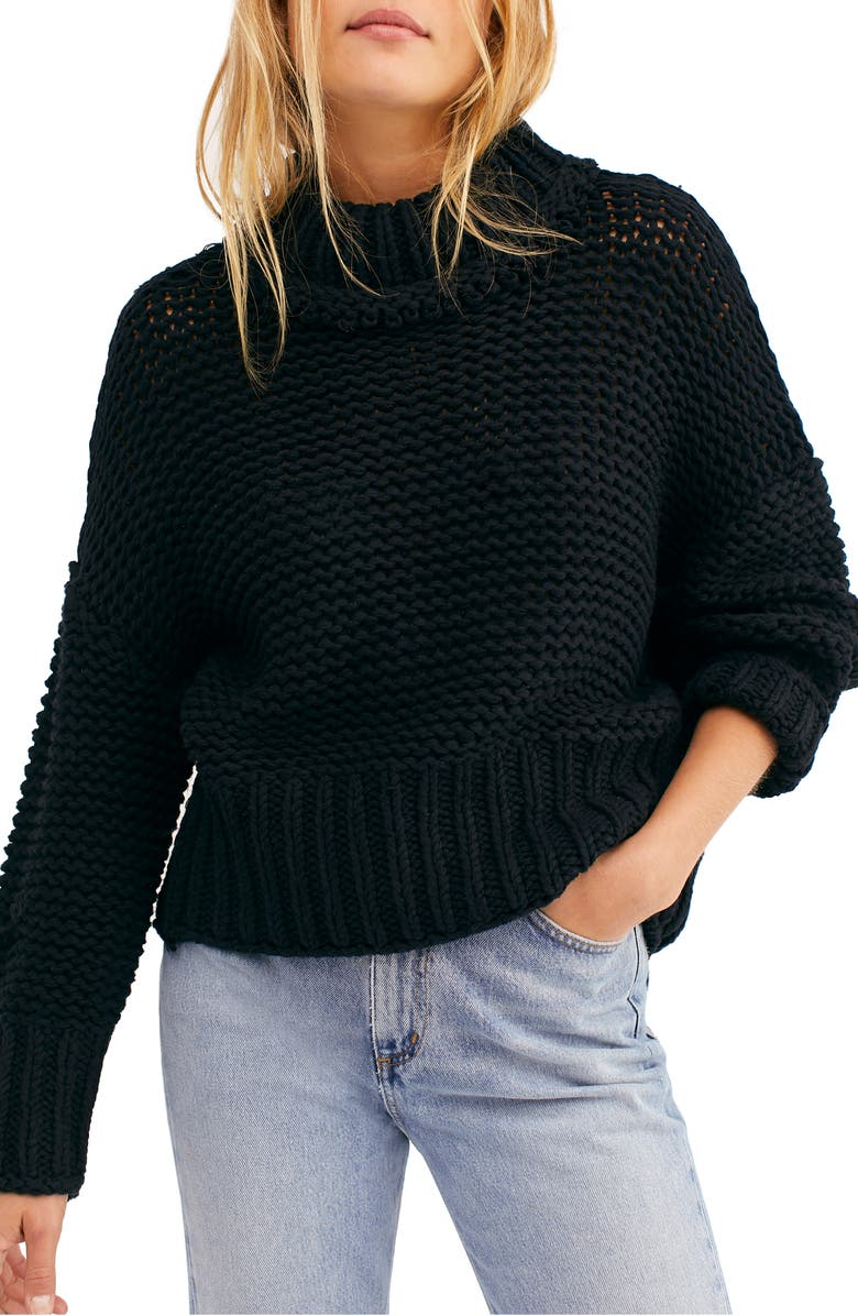 FREE PEOPLE My Only Sunshine Sweater, Main, color, 001