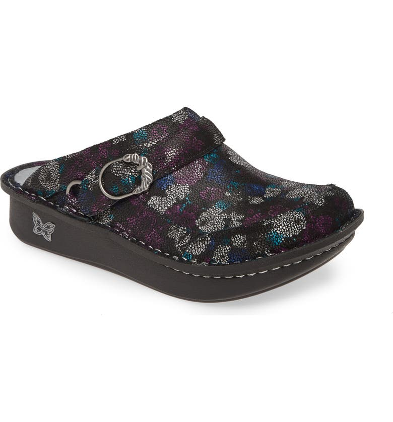 ALEGRIA Seville Water Resistant Clog, Main, color, WINTER FORMAL LEATHER