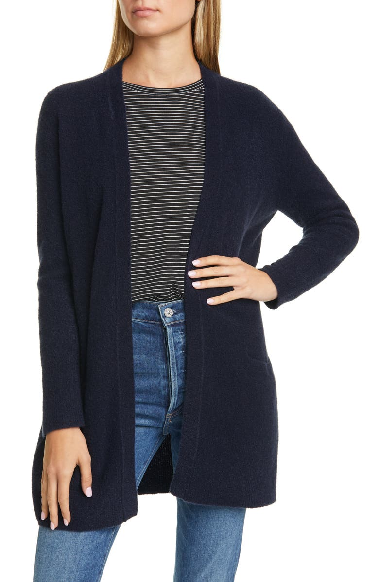 NORDSTROM SIGNATURE Cashmere Blend Cardigan, Main, color, 401