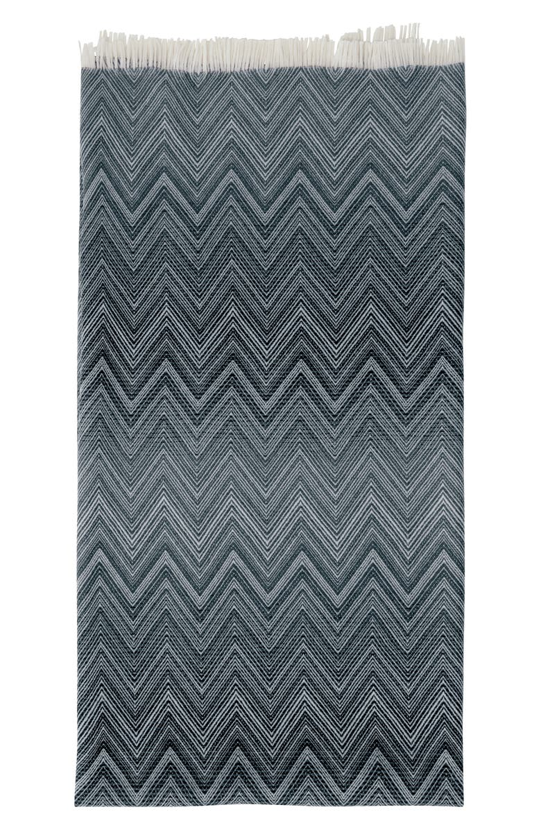 MISSONIHOME Missoni Timmy Wool Throw Blanket, Main, color, 020