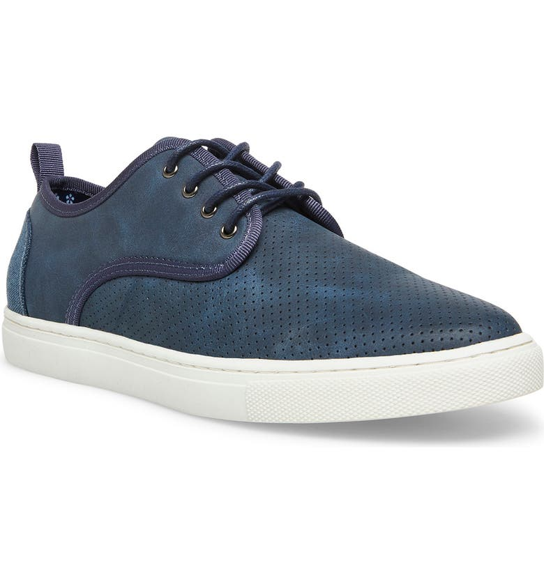 MADDEN Casit Perforated Fashion Sneaker, Main, color, NAVY