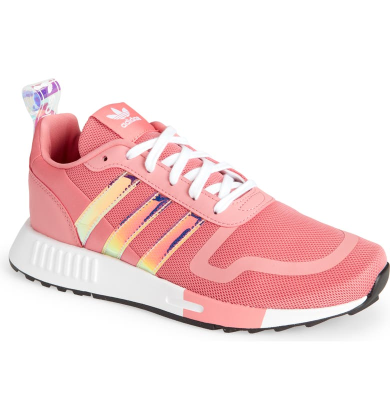 ADIDAS Smooth Runner Sneaker, Main, color, HAZY ROSEWHITE/CORE BLACK