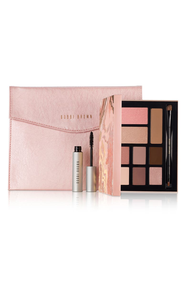 BOBBI BROWN The Essential Deluxe Eyeshadow & Face Palette, Main, color, 000