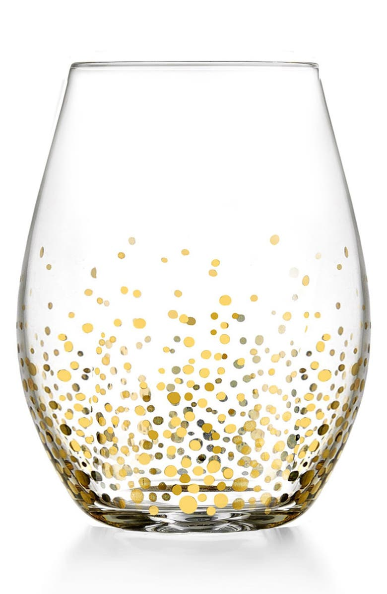 AMERICAN ATELIER Daphne Set of 4 Stemless Wine Glasses, Main, color, 100