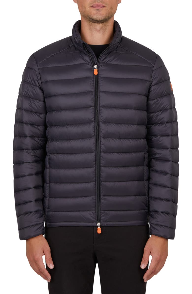 SAVE THE DUCK GIGA Water Resistant Puffer Coat, Main, color, 001