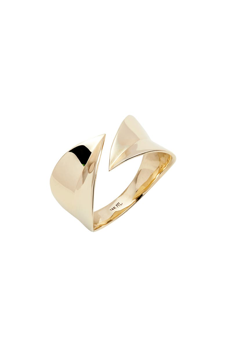 BONY LEVY 14K Gold Open Wrap Ring, Main, color, 710