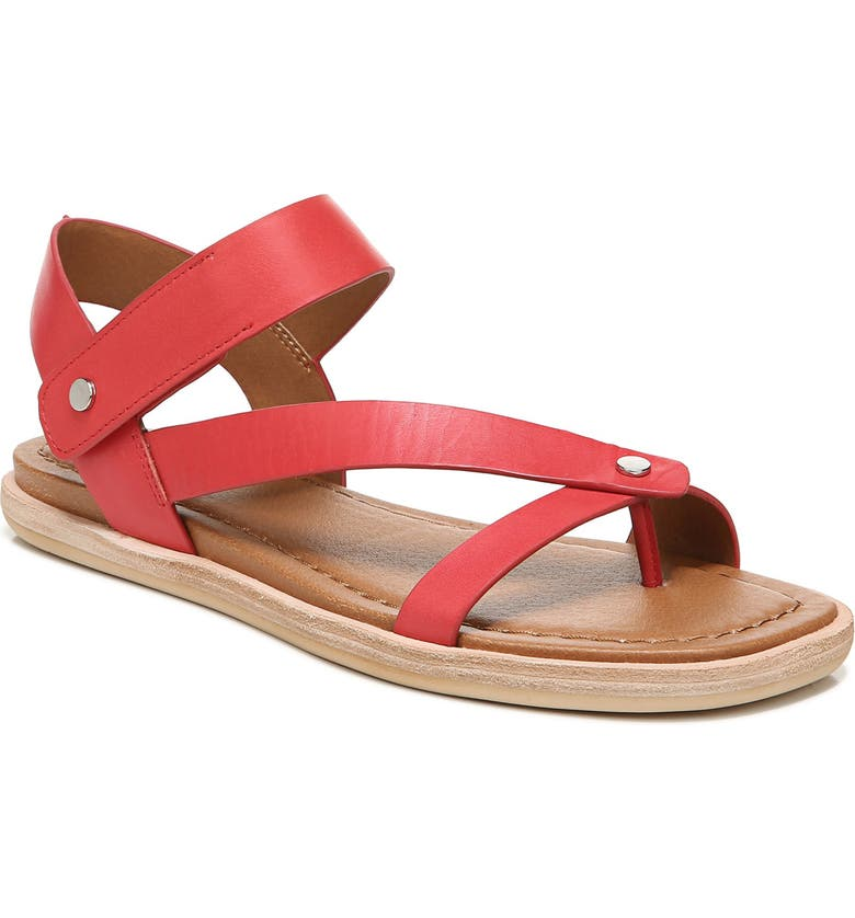 SARTO BY FRANCO SARTO Harriet Sandal, Main, color, RED LEATHER
