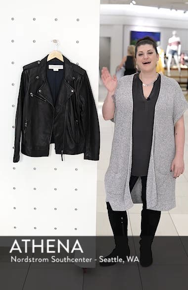 Convertible Leather Jacket, sales video thumbnail