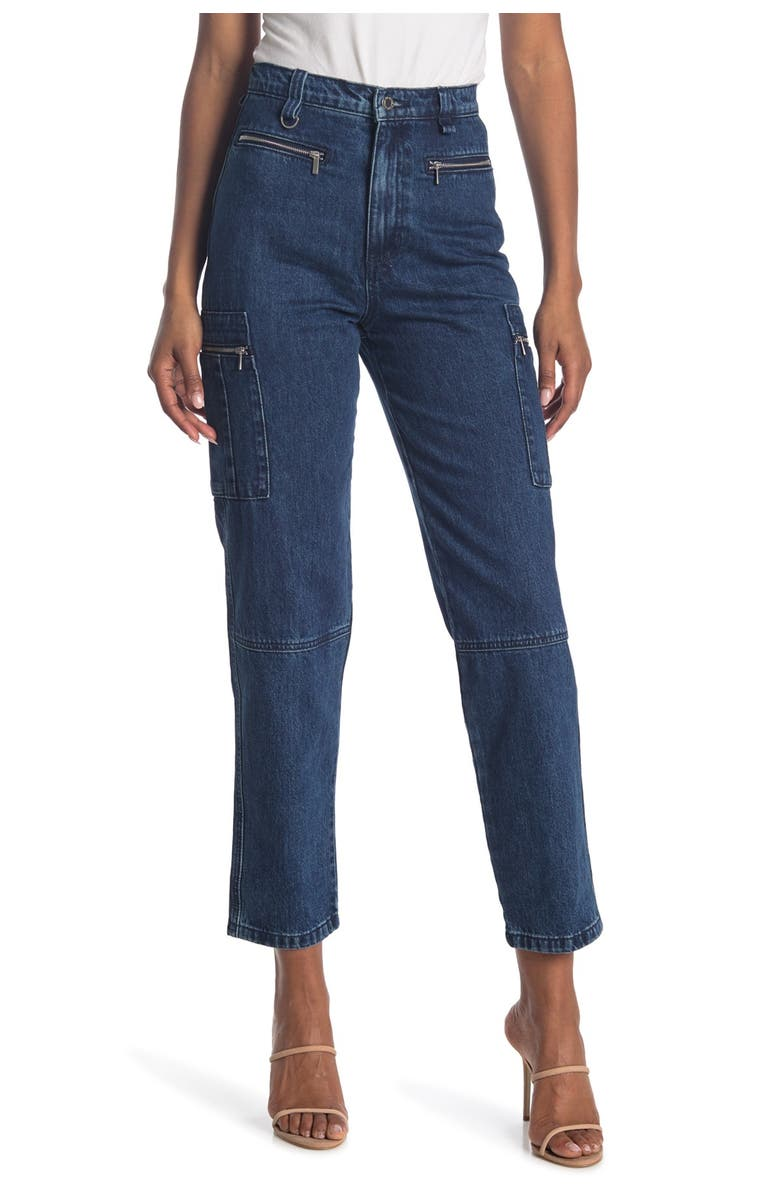 WEWOREWHAT Utility Jeans, Main, color, BROOME
