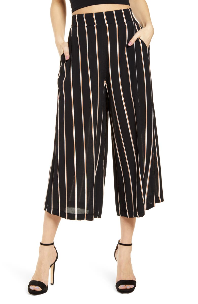 LEITH Easy Crop Pants, Main, color, 001