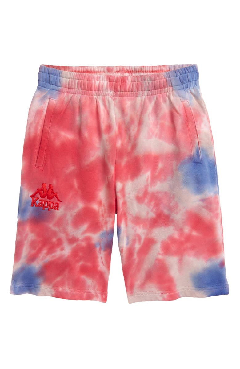 KAPPA Authentic Tie Dye French Terry Shorts, Main, color, 600