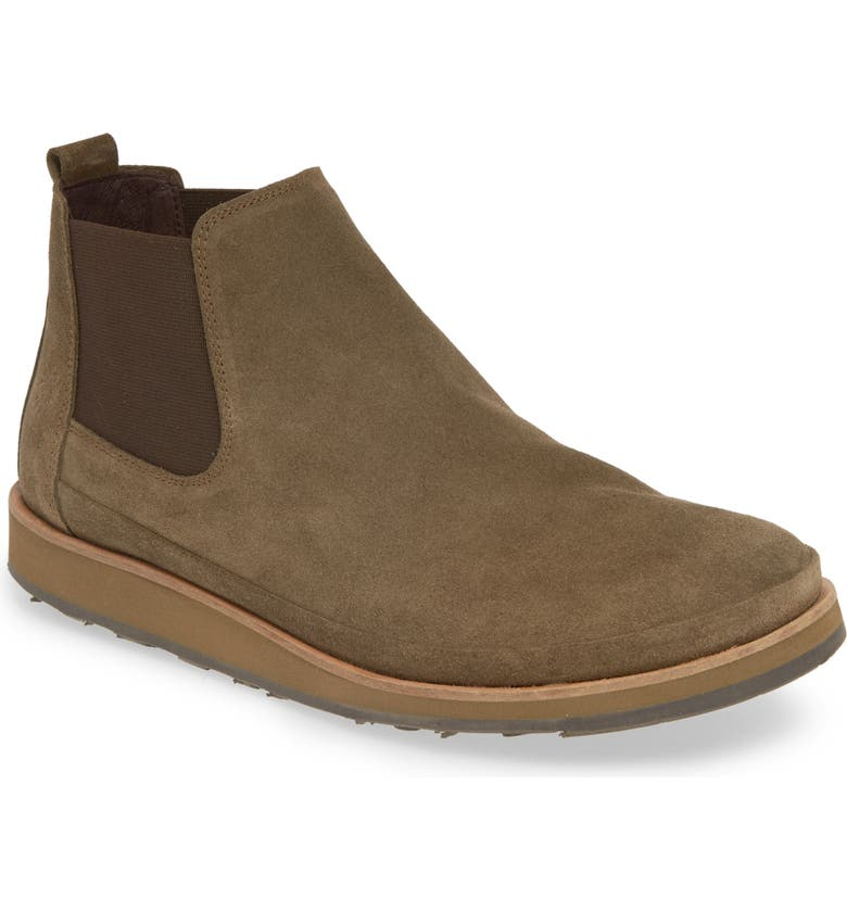 FLY LONDON Japa Chelsea Boot, Main, color, OLIVE SUEDE