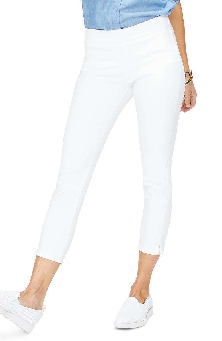 NYDJ Millie Ankle Skinny Jeans, Main, color, OPTIC WHITE