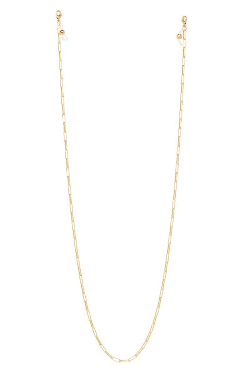MADEWELL Paper Clip Chain Convertible Face Mask Lanyard, Main, color, 710