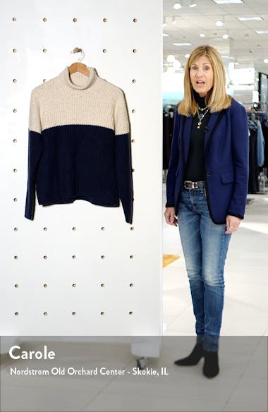 Oversize Colorblock Sweater, sales video thumbnail