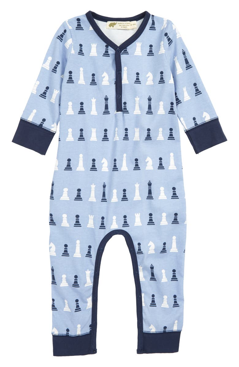 MONICA + ANDY On the Go Romper, Main, color, 400