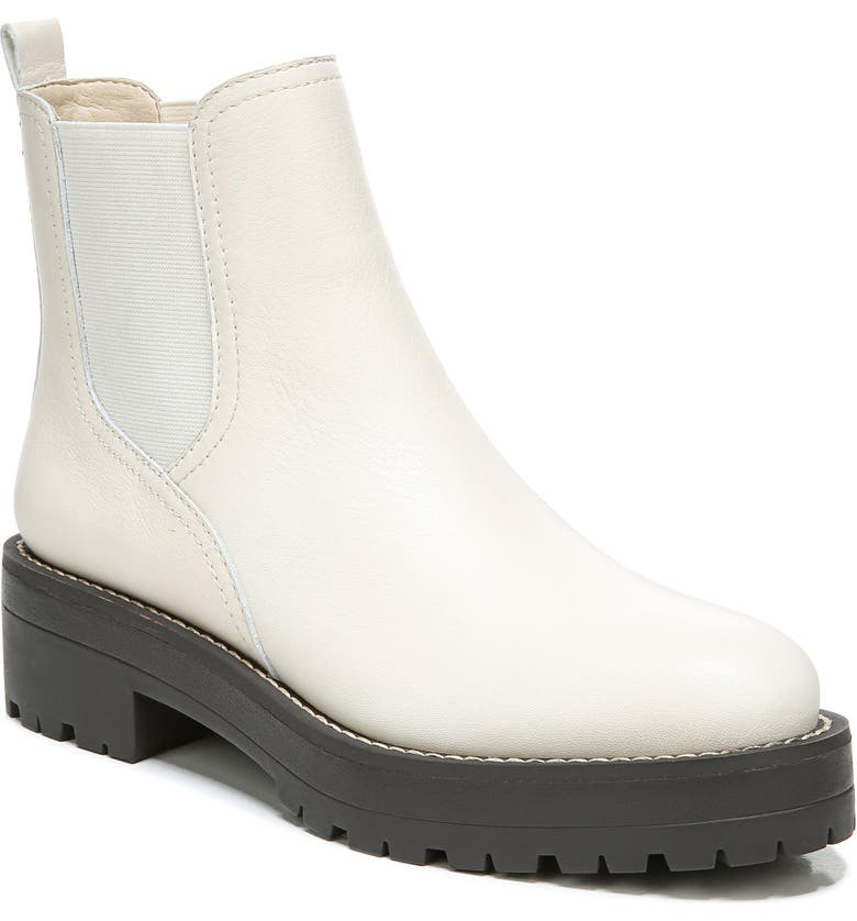 SAM EDELMAN Justina Waterproof Chelsea Boot, Main, color, MODERN IVORY LEATHER
