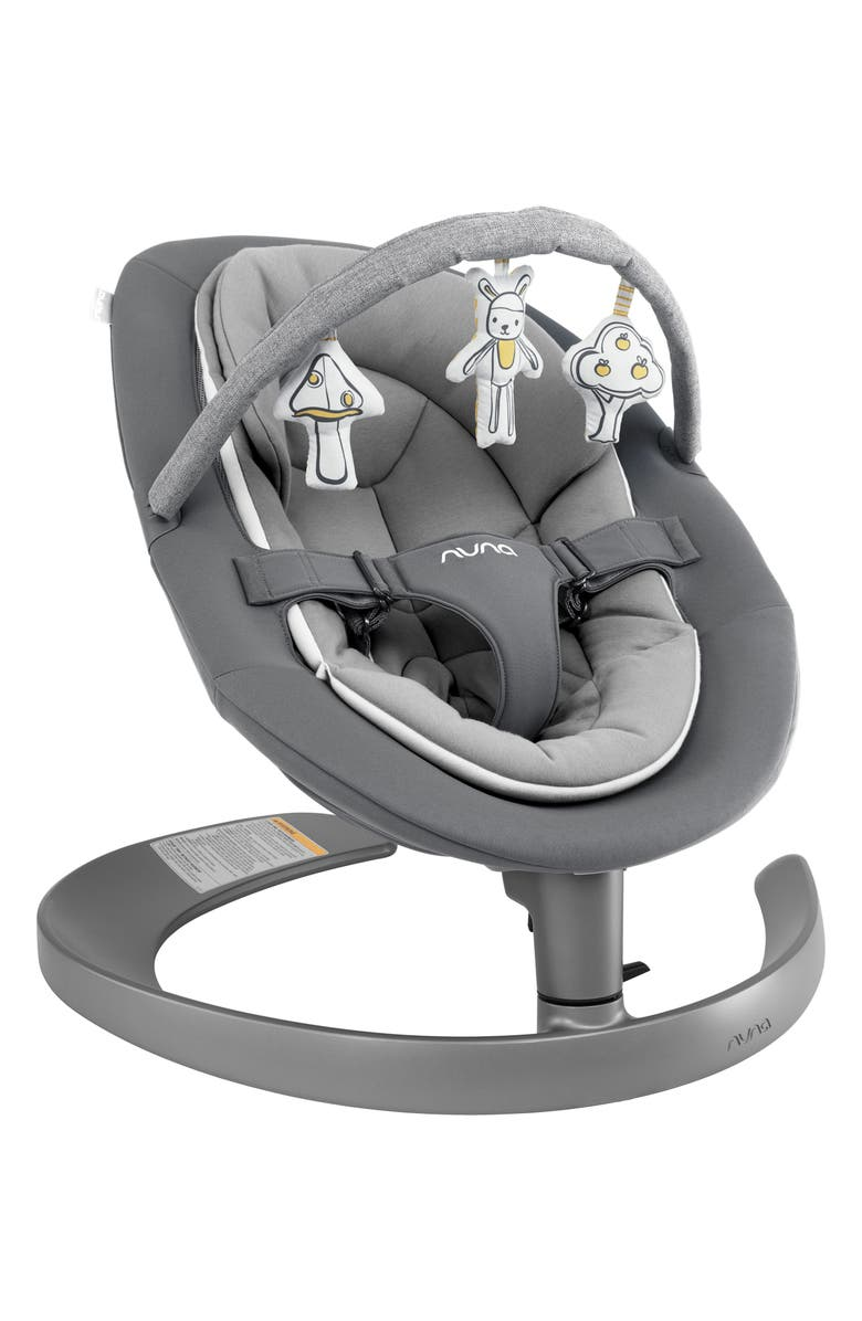 NUNA LEAF<sup>™</sup> Grow Baby Seat with Toy Bar, Main, color, THREADED-NORDSTROM EXCLUSIVE