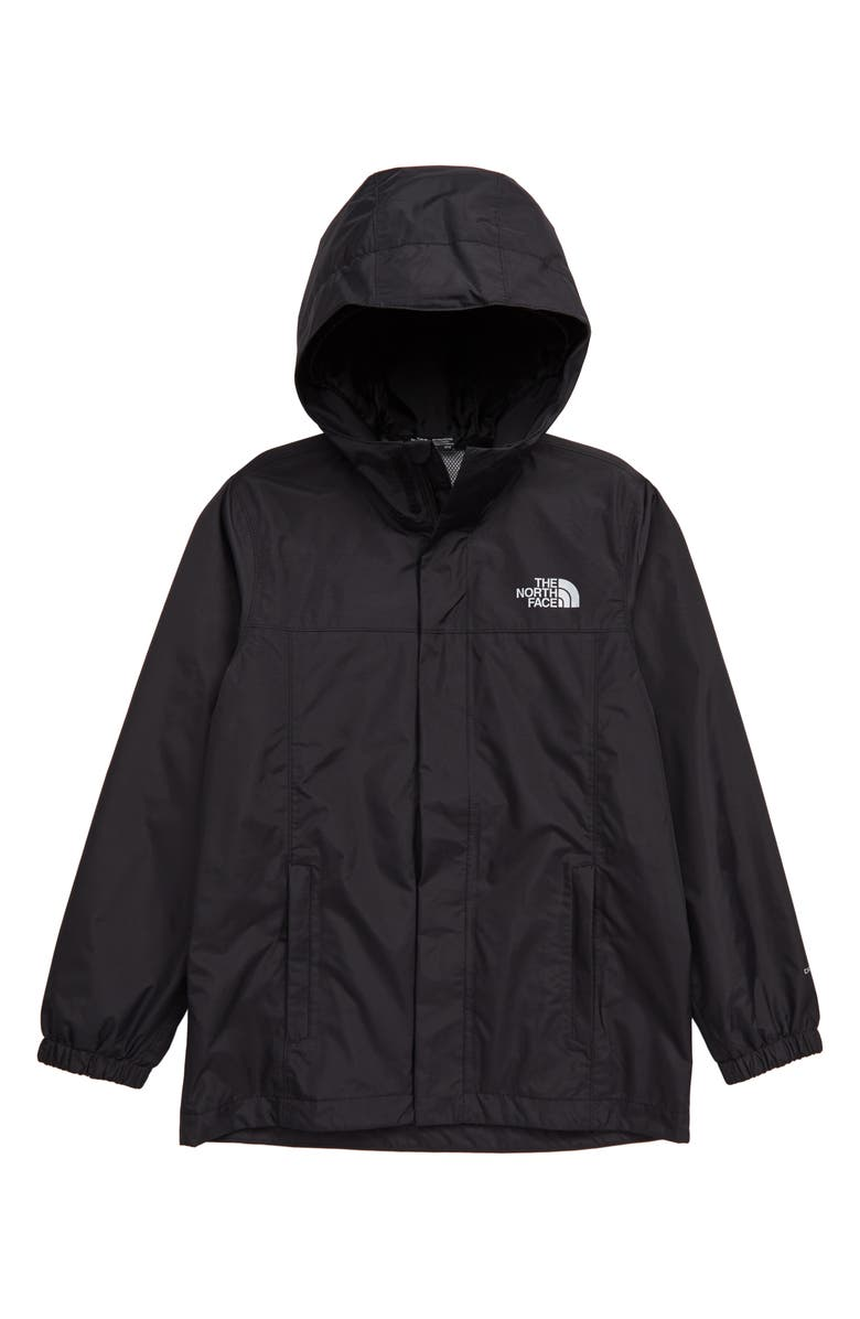 THE NORTH FACE Kids' Resolve Reflective Jacket, Main, color, TNF BLACK