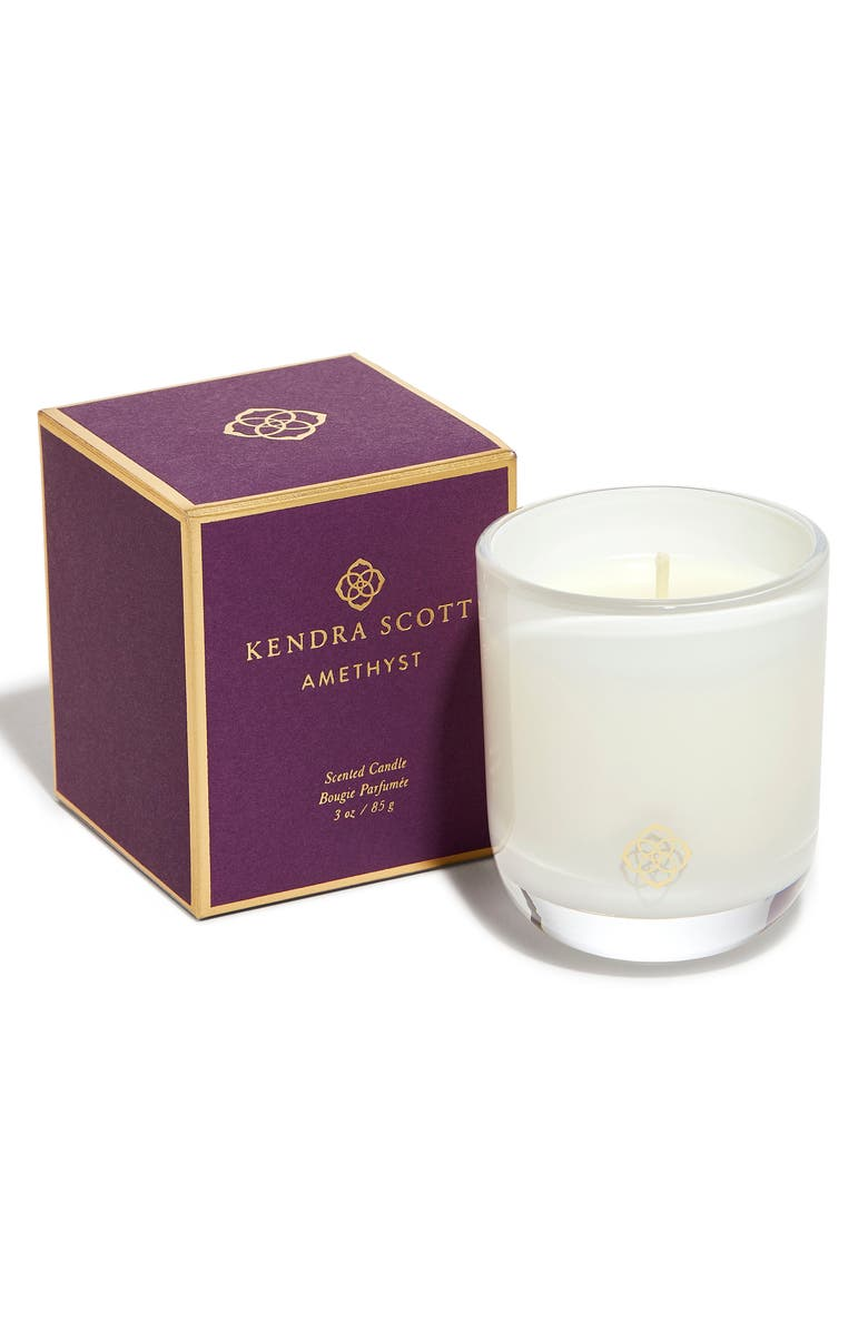 KENDRA SCOTT Scented Votive Candle, Main, color, AMETHYST