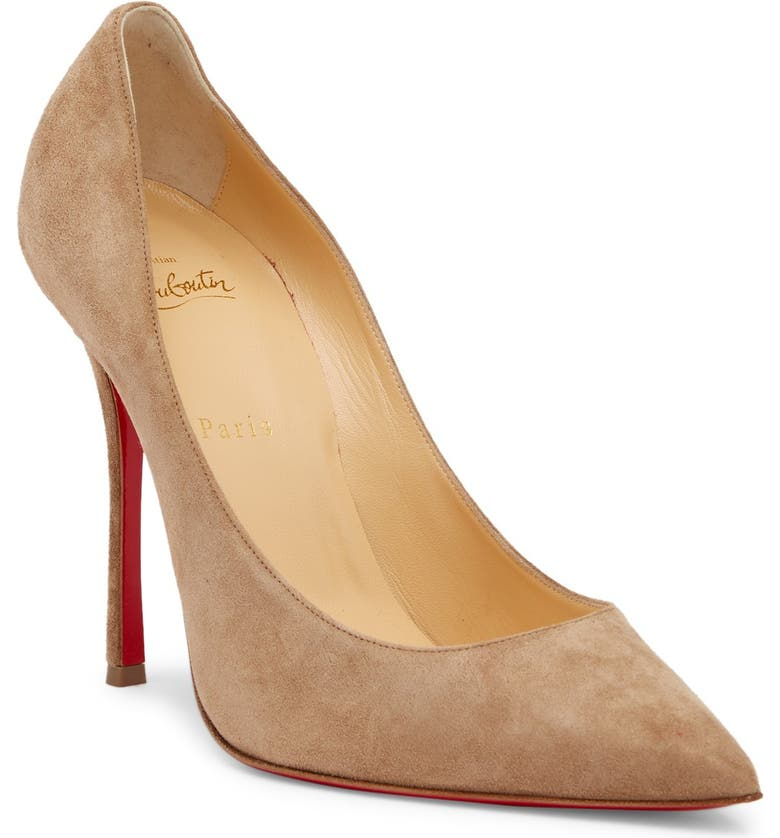 CHRISTIAN LOUBOUTIN Decoltish Pointy Toe Pump, Main, color, 257