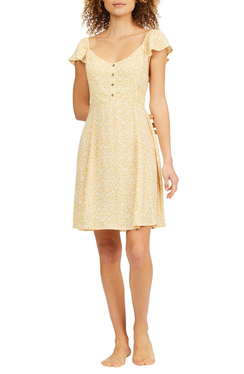 BILLABONG Forever Yours Print Dress, Main, color, SNF