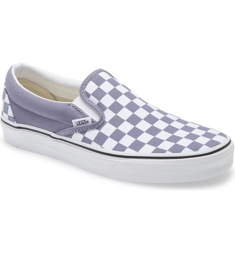 VANS Classic Slip-On, Main, color, BLUE GRANITE/ TRUE WHITE