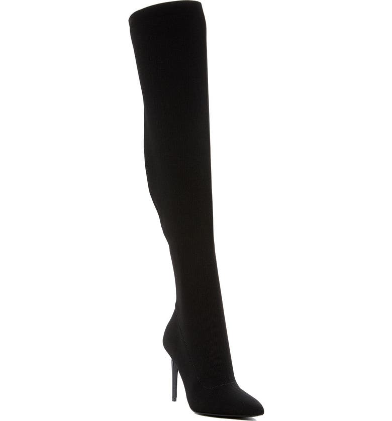 KENDALL + KYLIE Anabel Knit Over the Knee Boot, Main, color, 962