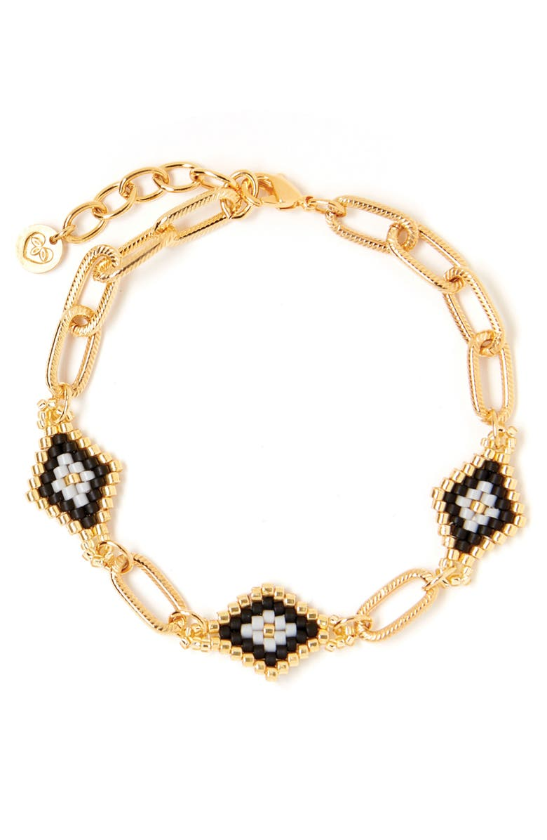 TESS + TRICIA Nora Station Bracelet, Main, color, 710