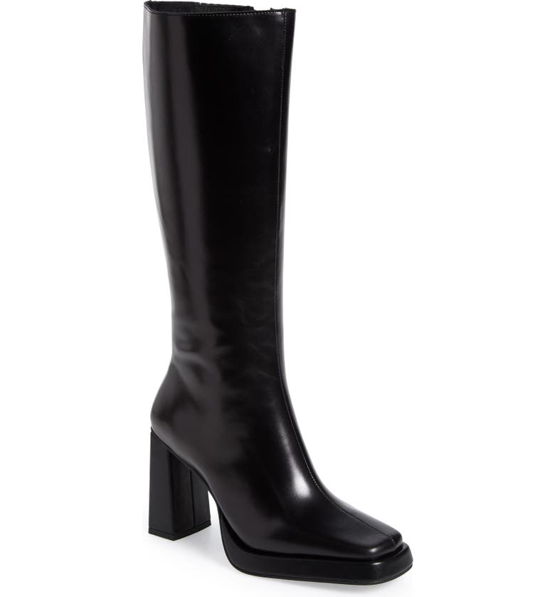 JEFFREY CAMPBELL Maximal Knee High Boot, Main, color, 001