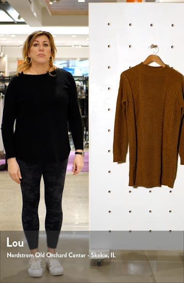 Cable Knit Sweater Dress, sales video thumbnail