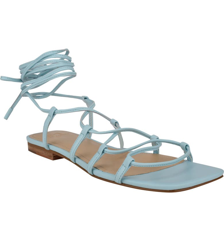 MARC FISHER LTD Mahalia Strappy Sandal, Main, color, CLEAR WATER
