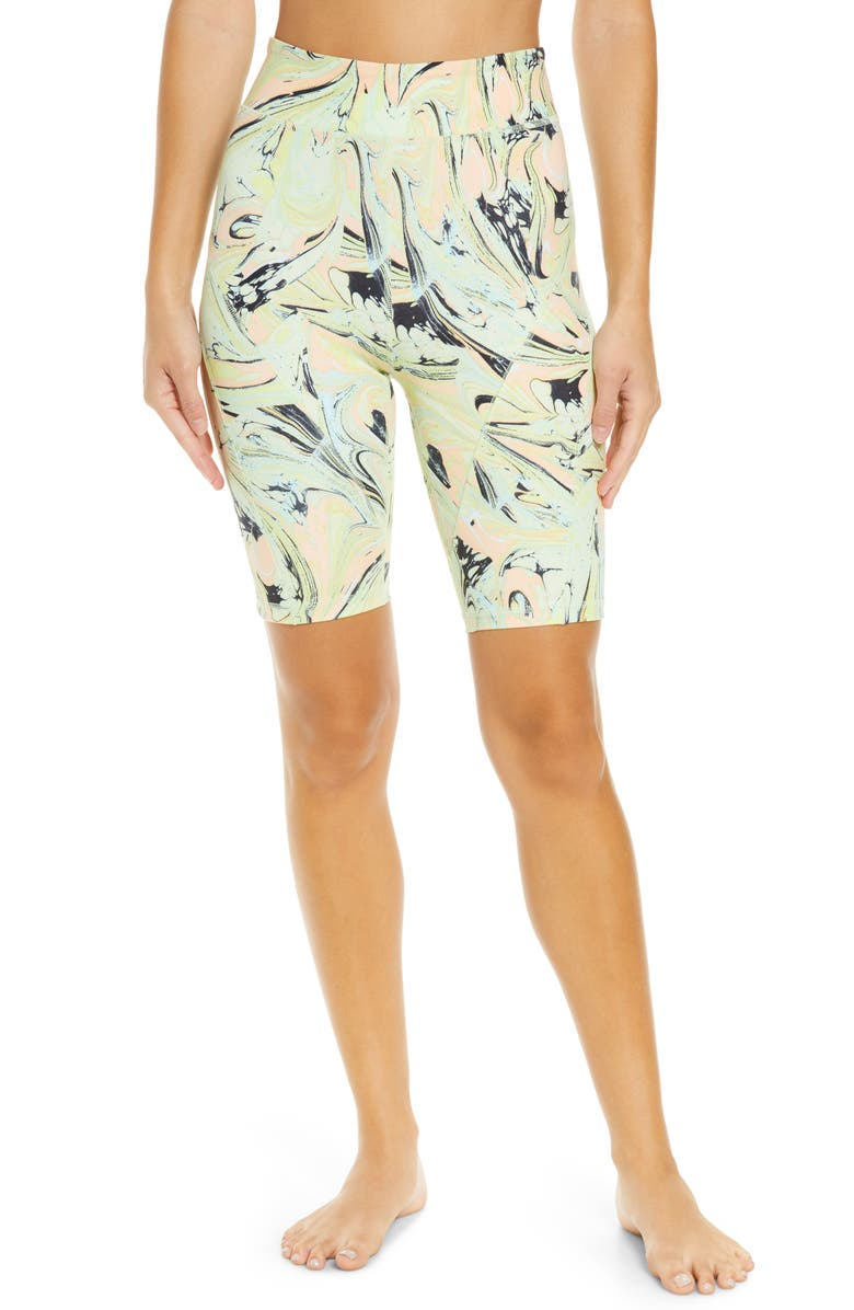 FREE PEOPLE FP MOVEMENT Lose Your Marbles Bike Shorts, Main, color, 700