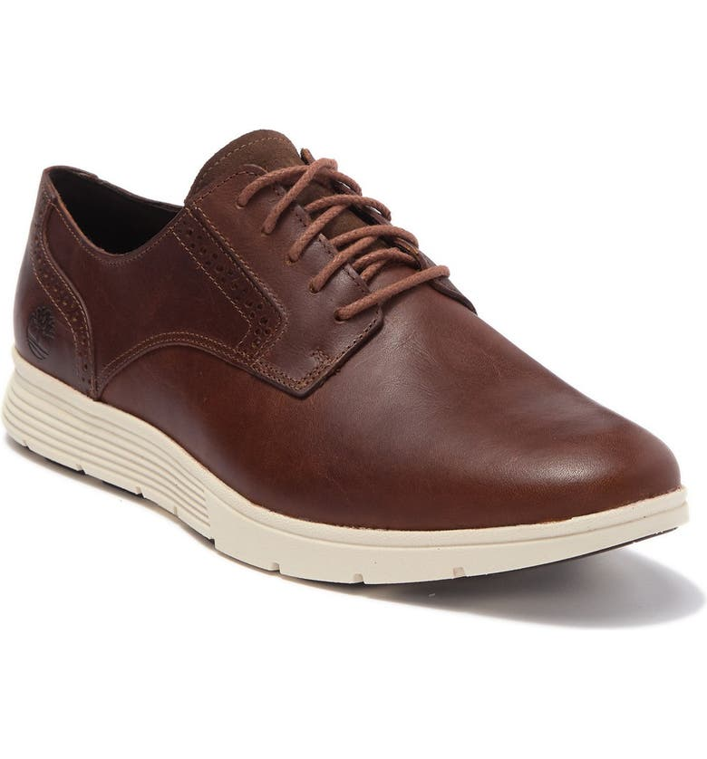 TIMBERLAND Franklin Leather Sneaker, Main, color, WHEAT