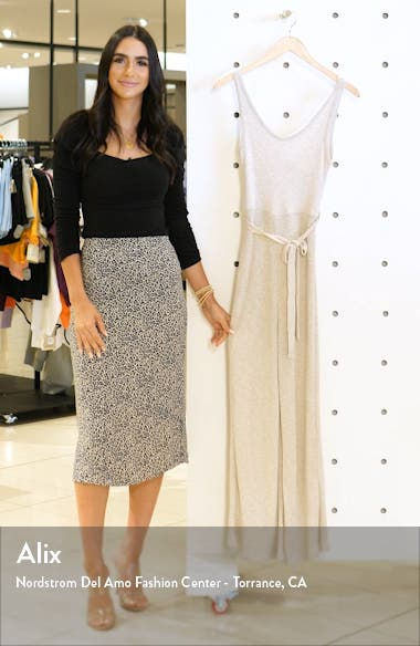 Ribbed Slouch Sleeveless Jumpsuit, sales video thumbnail
