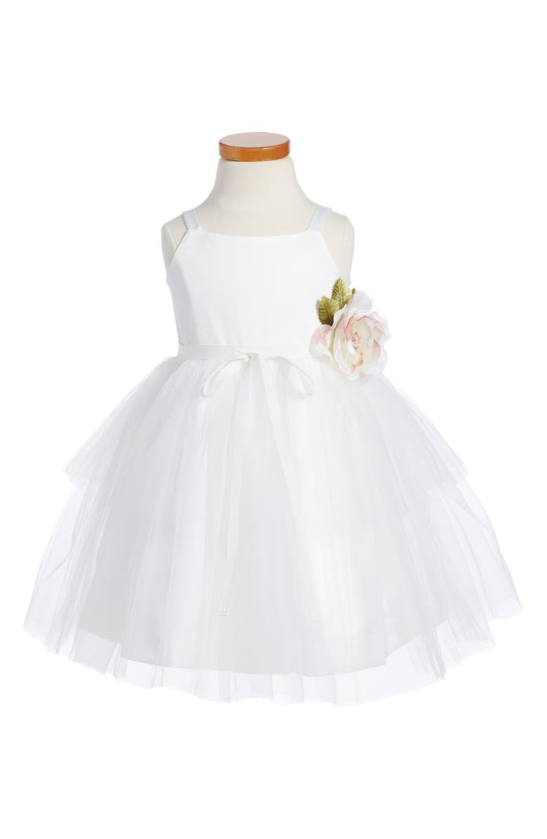 US ANGELS Tulle Ballerina Dress, Main, color, IVORY