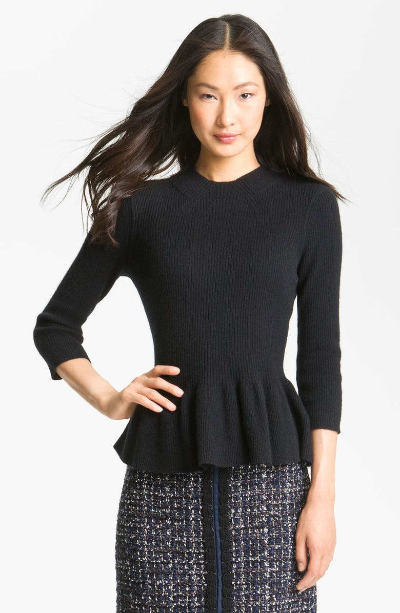 TORY BURCH 'Madeline' Sweater, Main, color, 001