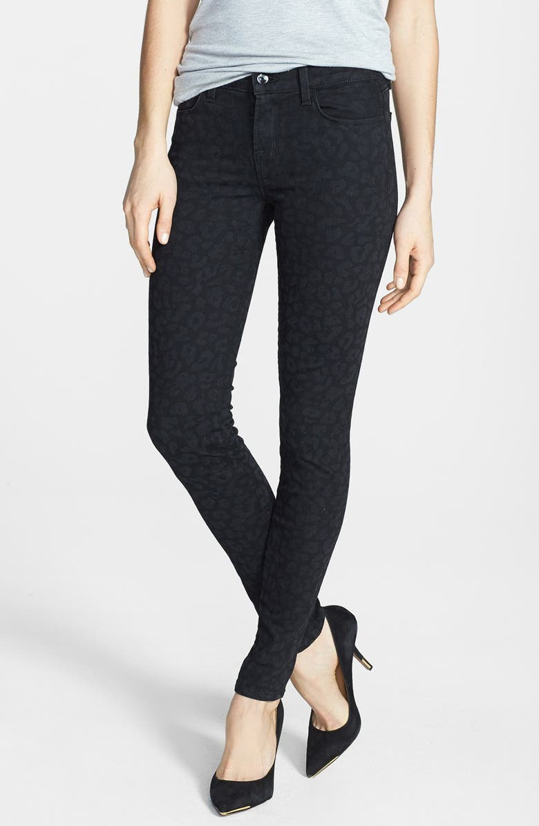 J BRAND '620' Mid Rise Skinny Jeans, Main, color, 002