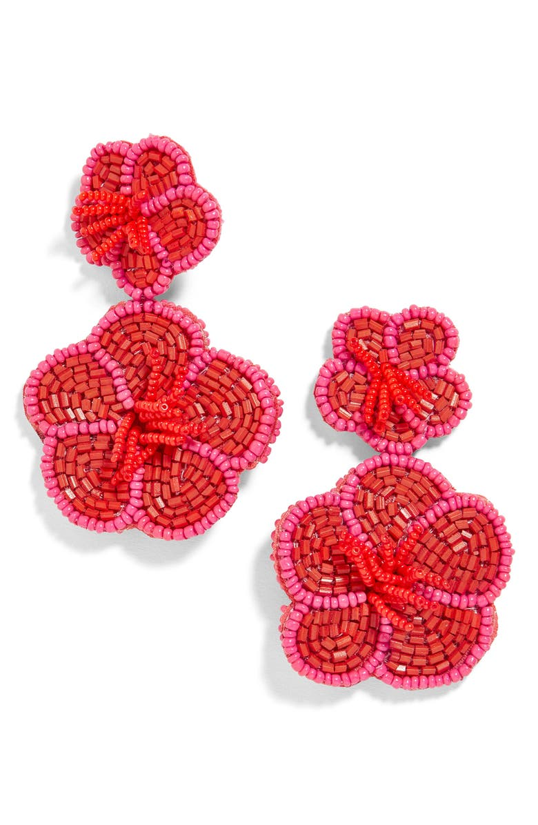 BAUBLEBAR Rosa Flower Drop Earrings, Main, color, 601