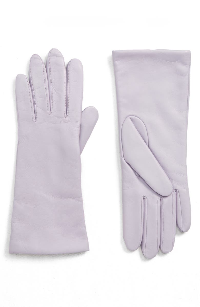HALOGEN<SUP>®</SUP> x Atlantic-Pacific Cashmere Lined Leather Gloves, Main, color, 530