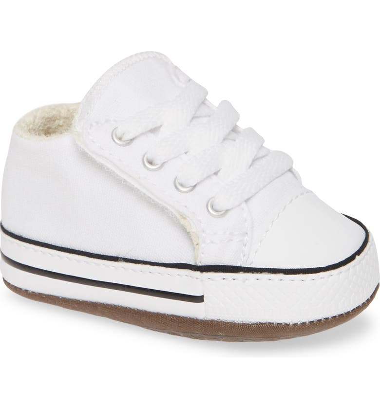 CONVERSE Chuck Taylor<sup>®</sup> All Star<sup>®</sup> Cribster Low Top Crib Shoe, Main, color, 102