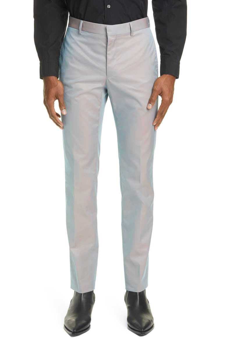 GIVENCHY Relaxed Skinny Fit Dress Pants, Main, color, 020