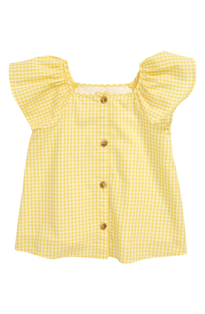 TUCKER + TATE Kids' Gingham Check Top, Main, color, 701