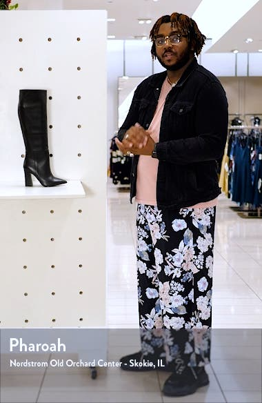 Showbiz Pointed Toe Knee High Boot, sales video thumbnail