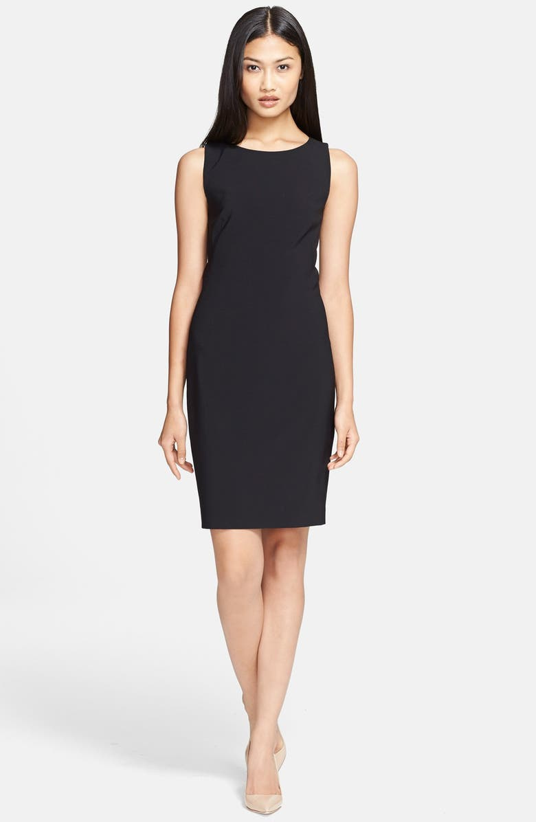 THEORY 'Betty 2' Stretch Sheath Dress, Main, color, 001