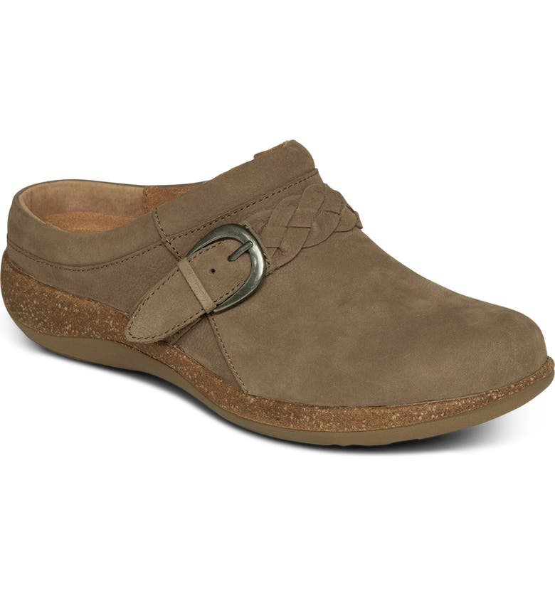 AETREX Libby Clog, Main, color, TAUPE